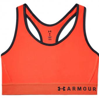 Under Armour Armour® Mid  Sport-BH Orange Damen