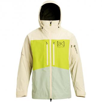 Burton [ak] 2L GTX® Swash   Snowboardjacke Almond Milk / Tender Shoots / Aqua Gray Herren