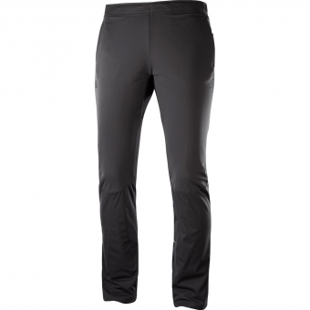 Salomon Agile Warm  Hose Black Damen
