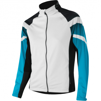 Löffler Worldcup WS Light  Jacke White/Topaz Blue Damen