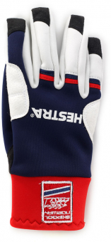 Hestra Windstopper Race Tracker  Fingerhandschuh Blue / Red