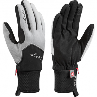 Leki Nordic Thermo  Fingerhandschuh White / Black / Charcoal Damen