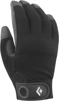 Black Diamond Crag   Klettersteig-Handschuh Black