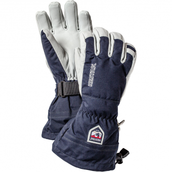 Hestra Army Leather Heli Ski  Fingerhandschuh Navy