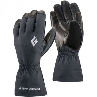 TIEFSCHNEETAGE NEW ITEM  Black Diamond Glissade  Glove Black Men