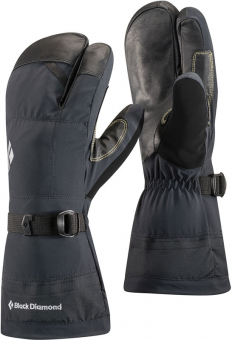Black Diamond Soloist 3  Fingerhandschuh Black Damen
