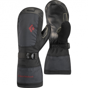 Black Diamond Mercury  Mitten Black  Women