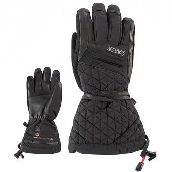 Lenz Heat Glove 4.0 Lady mit Lithium Pack RCB 1200  Fingerhandschuh Schwarz Damen