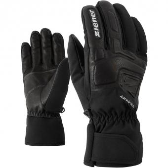 Ziener Glyxus AS Ski Alpine  Fingerhandschuh Black