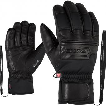 Ziener Gippo GTX® Infinium™  Fingerhandschuh Black Herren