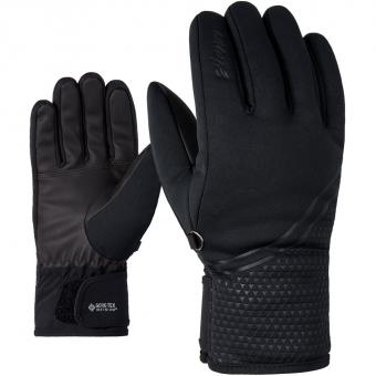 Ziener Kanta GTX® Infinium™  Fingerhandschuh Black Damen