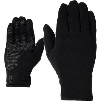 Ziener Innerprint Touch Multisport  Fingerhandschuh Black