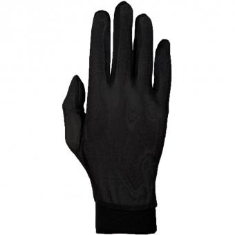 Roeckl Silk Unterzieh-  Fingerhandschuh Schwarz