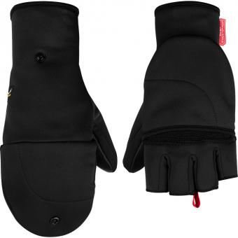 Salewa Sesvenna Fold Back WS  Fingerhandschuh Black