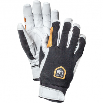 Hestra Ergo Grip Active  Fingerhandschuh Black/White Herren