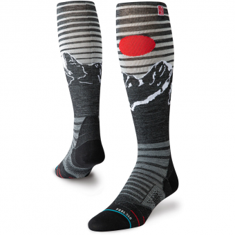 Stance Alpine JC  Skiing Socks Black Men