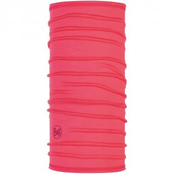 Buff 3/4 Lightweight Merino  Neckwarmer Solid Paradise Pink Women