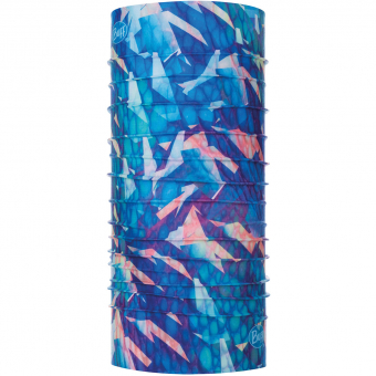 Buff Coolnet UV+®  Neckwarmer Refraction Blue
