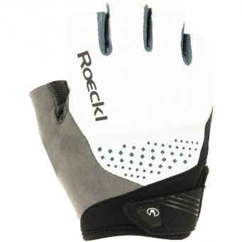 Roeckl Iberia  Bike Gloves short White