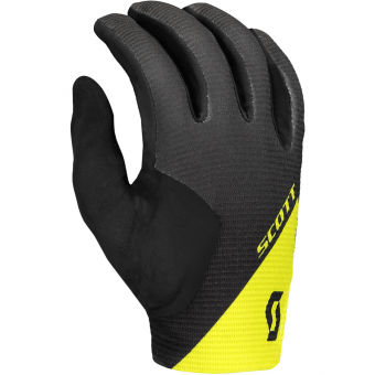 Scott Ridance LF  Bike Gloves long Dark Grey / Sulphur Yellow