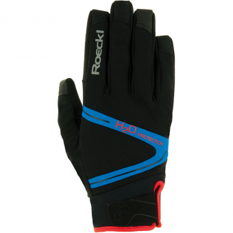 Roeckl Rhone Top Function  Bike Gloves Black / Blue