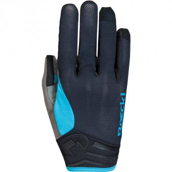 Roeckl Mileo Longfinger  Bike Gloves long Black / Turquoise