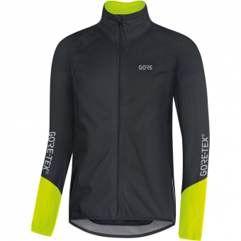 Gore Wear Active GTX®  Jacke Black / Neon Yellow Herren