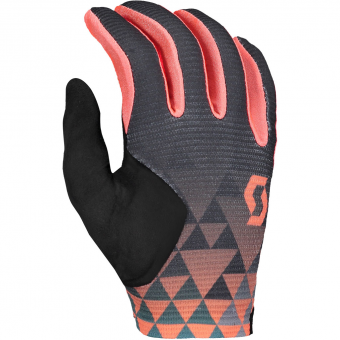 Scott Ridance LF  Bike Gloves long Dark Grey / Camellia Pink Women