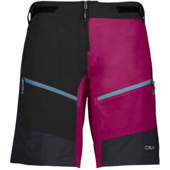 CMP Free Bike Bermuda  Shorts Nero-Geraneo Damen