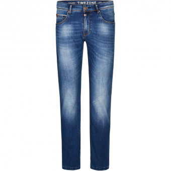 Timezone Slim Scott TZ Länge: 32  Hose Used Bright Blue Wash Herren