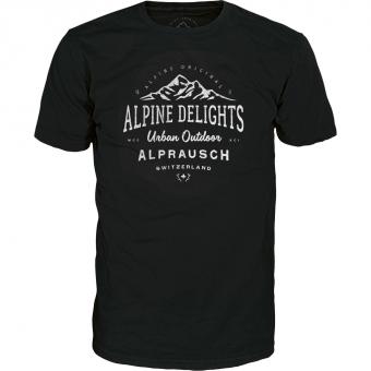 Alprausch Heimat  T-Shirt Black Herren