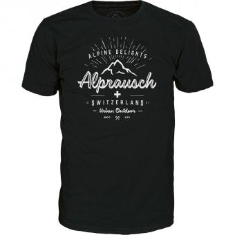 Alprausch Schwiizer-Original  T-Shirt Black Herren