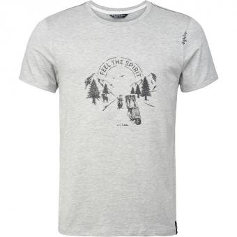 Chillaz Feel The Spirit  T-Shirt Grey Melange Herren