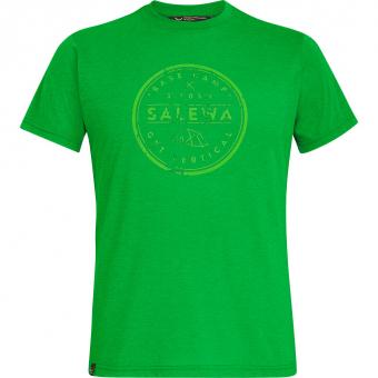 Salewa Base Camp Dri-Release  T-Shirt Classic Green Melange Men