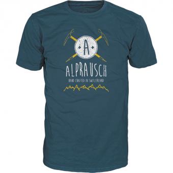 Alprausch Pickl-Toni  T-Shirt Indian Teal Herren