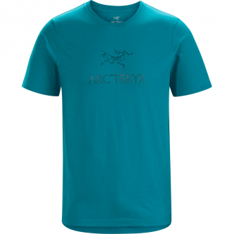 Arcteryx Arc´Word  T-Shirt Dark Firoza Herren
