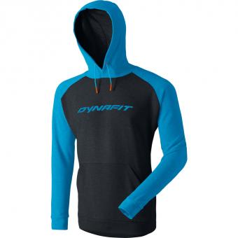 Dynafit 24/7 Logo  Hoodie Methyl Blue Herren