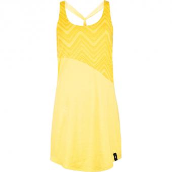 Chillaz Grande Grotta  Kleid Yellow Damen