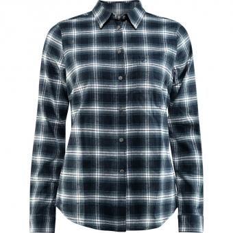 Fjällräven Övik Flannel  Shirt Dark Navy Women