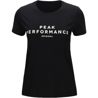 Peak Performance Original  T-Shirt Black Women