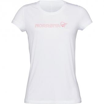 Norrøna /29 Tech  T-Shirt Pure White Women