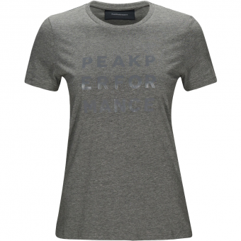 Peak Performance Ground 1  T-Shirt Grey Melange Women