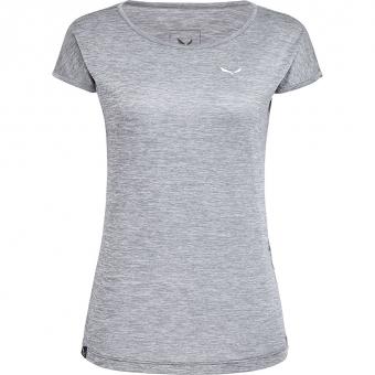 Salewa Puez Melange Dry  T-Shirt Quiet Shade Melange  Damen