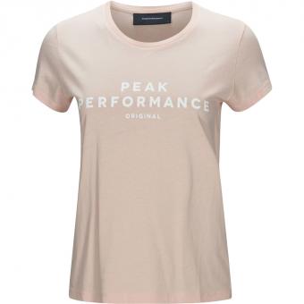 Peak Performance Original  T-Shirt Fairy Dust Women