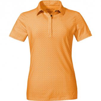 Schöffel Altenberg1  Poloshirt Warm Apricot Damen