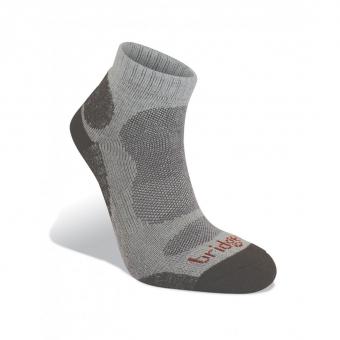 Bridgedale Bamboo LO  Socks Natural / Grey