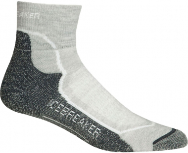 Icebreaker Hike + Like  Socks Heather-White-Oil Women