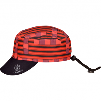 Chaskee Junior Reversible  Cap Fancy Lines / Red Kinder