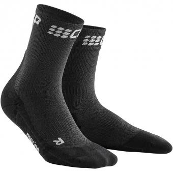 CEP Winter Run Short  Socken Grey / Black Herren