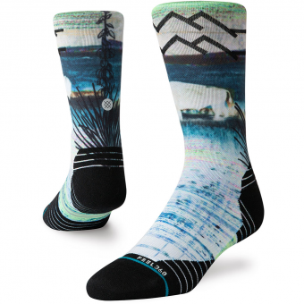 Stance Great Plains Crew  Socks Multi Men